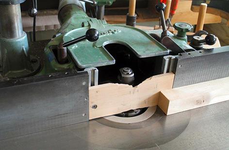 Maschine in der Werkstatt